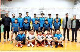 حضور رئیس جدید هیات والیبال استان کرمانشاه در تمرینات تیم سپیدار