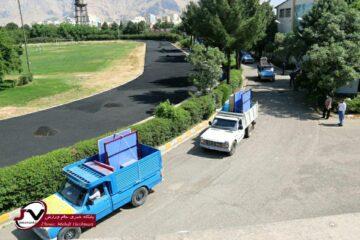 تجهیزات ورزشی در روستاهای استان کرمانشاه توزیع شد