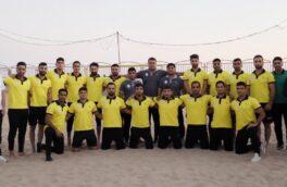 اردوی تیم ملی کبدی ساحلی ایران در بندرعباس
