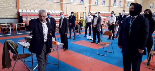 برگزاری کلاس استاژ وداوری سبک های آزاد کاراته در کرمانشاه
