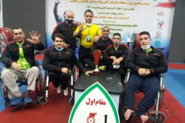 ۵ مدال، سهم پاراوزنه برداری کرمانشاه از مسابقات قهرمانی کشور