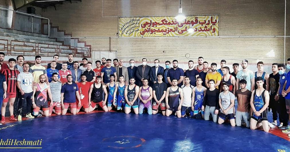 برگزاری دومین مرحله اردوی تیم ملی کشتی فرنگی ناشنوایان به میزبانی کرمانشاه