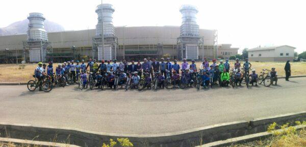 همایش بزرگ دوچرخه سواری در کرمانشاه برگزار شد