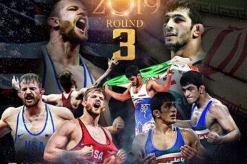 یزدانی –  تیلور راند سوم مبارزه ای طلایی در المپیک