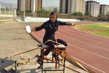 بانوی ورزشکار کرمانشاهی / به هدفم رسیدم