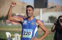 افتخار آفرینی دونده کرمانشاهی در رقابتهای دو و میدانی باشگاههای کشور